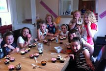 Cupake Decorating Parties / Kids birthday parties in Glasgow and Lanarkshire
