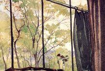 Windows in Paintings / Paintings