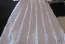 Baby's Christening Gown Knitting Patterns