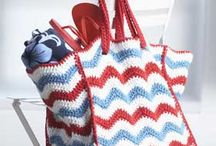 crochet bags and purses / by Mountain Made Crochet