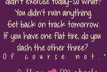Fitness/Motivational Quotes