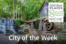Niche City of the Week / Each week Niche.com celebrates a city in America that stands out in overall excellence. This board is a collection of past Niche City of the Week winners. / by Niche