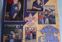 Cub/Boy Scout/Eagle Scout Scrapbook