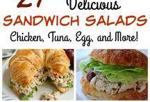 Sandwich salads