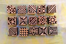 Block Printing Repeat Patterns