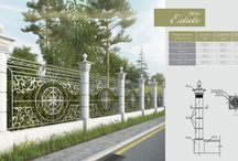 BetON fences / concrete fences, заборы из бетона