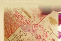 A brand made of Glitter / Images from my blog / by Aldara