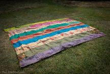 Silk Kantha Bedspreads