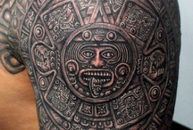 mayan arm tattooe