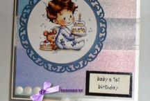 Идеи открыток для новорожденных