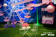 Up, Up and Away! / Up, Up and Away - This theme is playful and can be adapted by changing colours or props and still create that carnival feel! For more see: https://goo.gl/NI1aKD