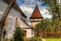 Saxon Villages in Transylvania