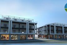 PINETO - via G. D'Annunzio / Locali commerciali su via D'Annunzio di varie metrature con ampie vetrine e possibilità di...