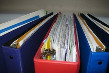 Paperwork Organizing / by Aprille Casey