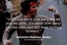 ROCKY!!!! / The Italian Stallion Rocky Balboa / by Courtney Smith