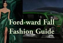 Fashion Ford-ward / From ready-to-wear, to ready-to-drive, this year's hottest fall fashion Ford-ward styles have inspired our newest collection. Click through our slideshow to see what latest trends may be hitting the road soon. #FashionWeek
