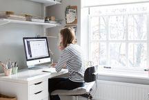 Decorating - office