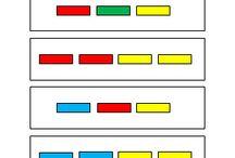 Kleuters kleuren en vormen