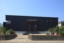 外観 平屋 / 池下建設が設計、施工をした平屋の外観。