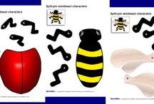 School Theme - Bugs