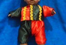 Muñecos/as Santería y Complementos Orixás