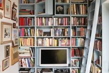 bookcases / my fascination with books and bookcases