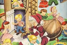 Mother Goose Fairy Tales Nursery Rhymes Fables / Children's Dreams / by Linda McRea