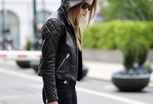 Perfectos and leather jackets....