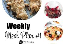Weekly Meal Plans & Meal Planning Inspiration