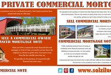 Sell Private Commercial Mortgage
