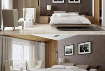 Interiors and decoration / Moose horns painted with spray