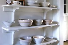 open shelving obsession / by Katie Vanderwall Cook