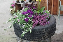 Garden / Upcycled items for your garden!  You can find inspirational ideas for creating your garden. Transform your garden into an upcycled and sustainable haven!