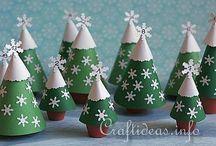 fenyőfák, karácsonyfák