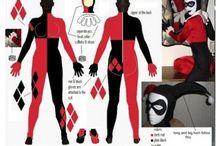 Harley Quinn cosplay diy