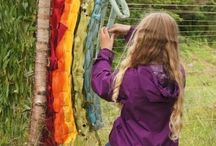 Textilkunst outdoor