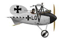 caricaturas aviones