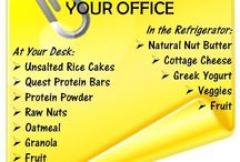 Shelf Stable Office Food / Ideas for shelf stable foods or food products to keep at work / by Debra Peterson