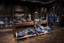 jeans displays