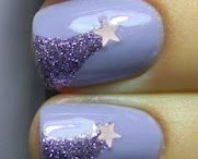 Stars Nail Art / by Rose Stumbaugh