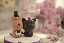Cats & Dogs Cake Topper