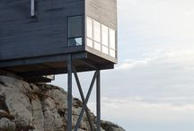 Cliff cabins