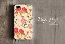 iPhone cases / by Rachel Troychock