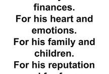 Husband prayer