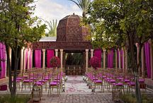 Moroccan Themed Weddings / Love the colours and vibrancy.