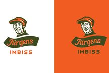 Logos with character / Illustrated brand marks. Stylized portraits or character illustration as visual identity.