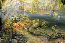 Josephine Wall - Fantasy Art / by Susie Clark