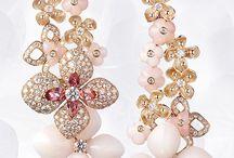 Earrings  and rings