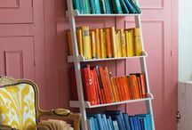 Bookshelves / The most wonderful bookshelves, whether carefully designed or naturally beautiful