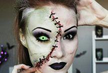 Halloween makeup ®